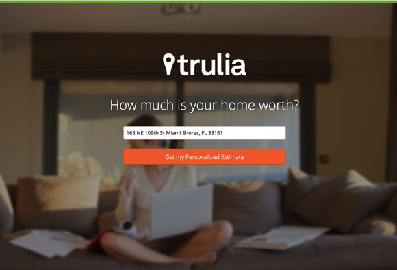 Trulia's Sell Page